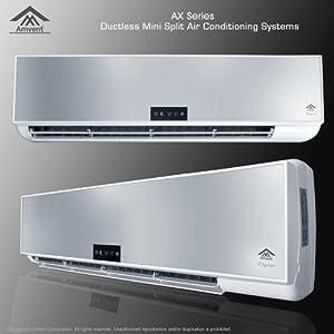 Amvent 18000 btu mini split air conditioner for Small 1 room air conditioner