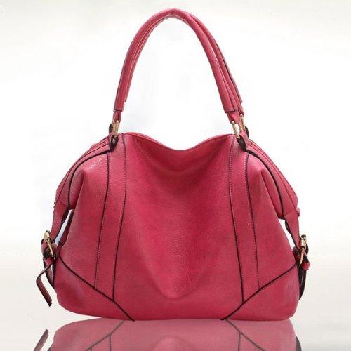 Women Classic Pu Leather Handbag Crossbody Bag