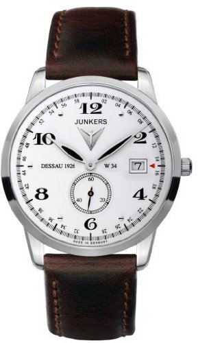 Junkers Inspiration 6334-4 Wristwatch for Him Made in Germany