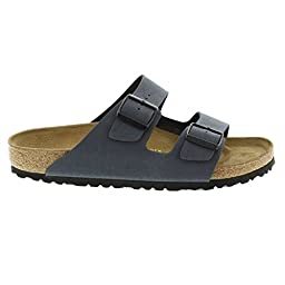 Birkenstock womens Arizona in basalt from Birko-Flor Sandals 39.0 EU N