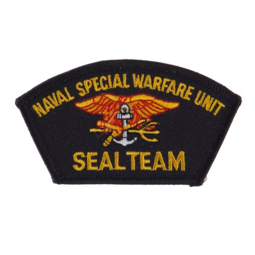 Navy Seal Team Embroidered Military Patch - Seal Team OSFM