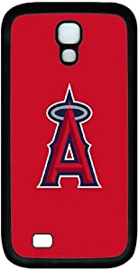 Baseball-Los Angeles Angels Samsung Galaxy S4 I9500 case (TPU material) Sports Samsung Galaxy S4 black mobile phone accessories customized by the micase