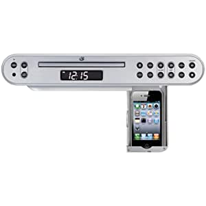 GPX KC222S Under-Cabinet CD/MP3 Player (Discontinued by Manufacturer)