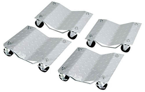 Set of 4 Heavy Duty Tire Wheel Dolly Vechicle Moving Dolly -27018 (Tire Dolly compare prices)