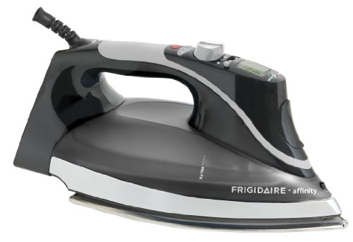 Frigidaire Affinity Steam+Pro LCD Iron (Classic Black)