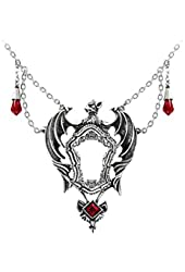 Drakul's Mirror Necklace by Alchemy Gothic