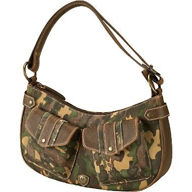 Ariat Womenfts Camo Craze Mini Hobo Handbag