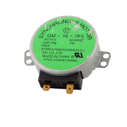 Microwave Oven Turntable Synchronous Motor 3W 5/6Rpm Ac 21V 50/60Hz