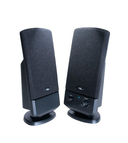 Cyber Acoustics 2 Pc Desktop System Ca-2002 back-191780