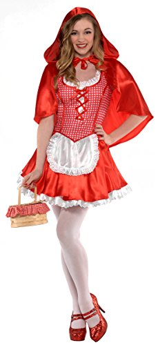 Juniors Miss Red Riding Hood Costume Size Large (11-13)