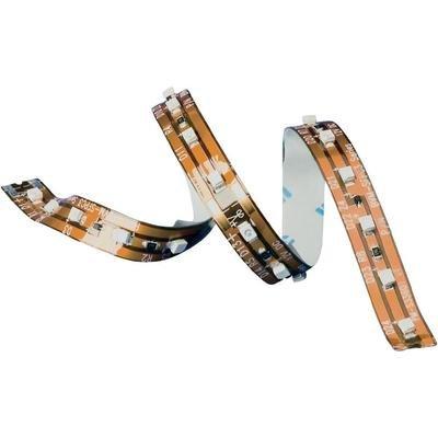 Flexible LED-Strips with series resistor White 14 cm / 10 LEDs 24 Vdc