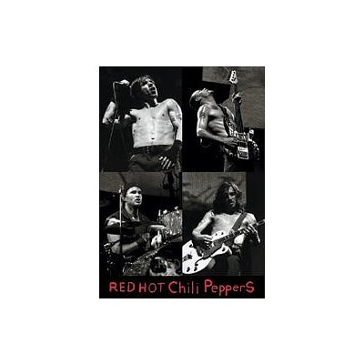 Red Hot Chili Peppers & Poster musicale B W