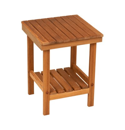 Plantation Teak Mini Rigid Bench (12″ x 12″)