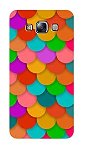 SWAG my CASE PRINTED BACK COVER FOR SAMSUNG GALAXY E7 Multicolor