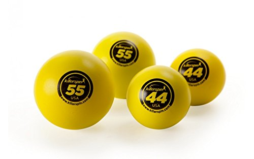 Killerspin 44 mm & 55 mm Table Tennis Balls 4-Pack
