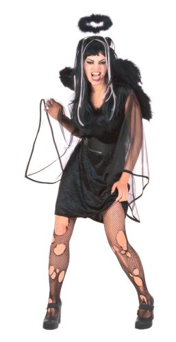 Adult Feathered Fallen Angel Costume
