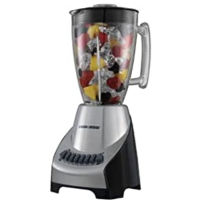 Black decker bl2100s 12 speed blender with for Kitchen perfected blender