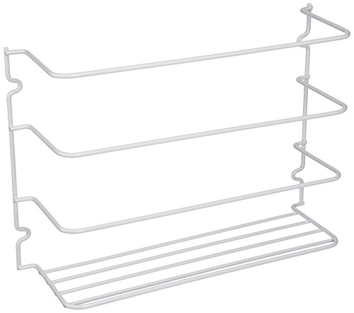 Grayline 40231, Door or Wall Wrap Rack, White (Camper Plate Holder compare prices)