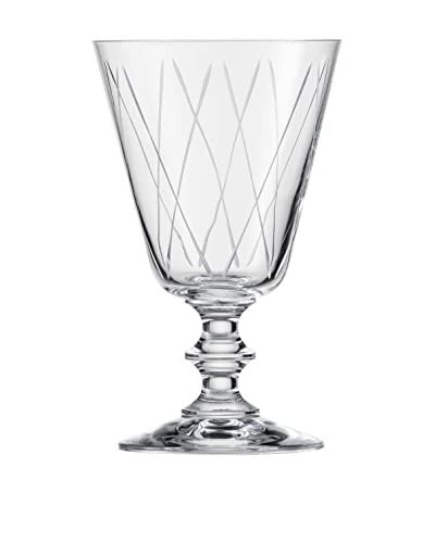 Eisch Set of 6 Graphic 10.2-Oz. Red Wine Stem Glasses