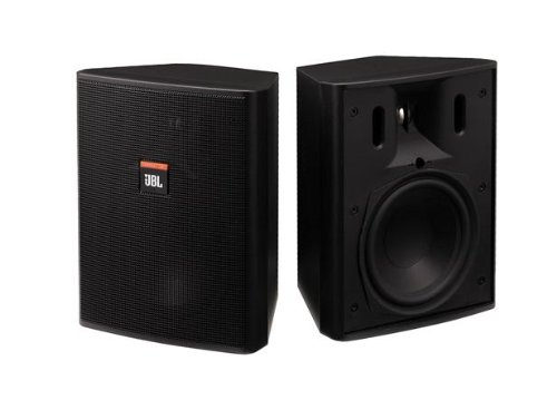 "Jbl Control 25 Compact Indoor/Outdoor Background/Foreground Loudspeaker, 5.25"" Woofer, 0.75"" Tweeter, Pair"
