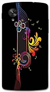 Timpax protective Armor Hard Bumper Back Case Cover. Multicolor printed on 3 Dimensional case with latest & finest graphic design art. Compatible with Google Nexus-5 Design No : TDZ-21825