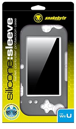 Snakebyte SB907388 Silicon Sleeve Black Kit de Protection Console compatible Wii U
