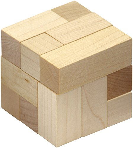 Natural Soma Cube - Made in USA