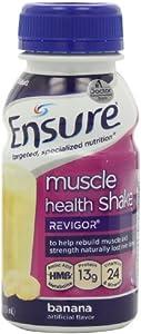 Ensure Muscle Health Banana Cream Shake, 8-Ounce(Pack of 16) by Ensure