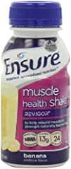 Ensure Muscle Health Banana Cream Shake 8-OuncePack of 16