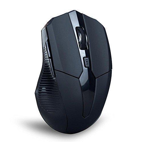TONOR Bluetooth 3,0 Funkmaus kabellos schnurlos wireless Maus Mäuse 800/1200/1600 DPI für PC Mac Tablet Laptop Schwarz