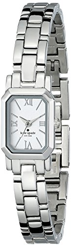 kate spade new york Women's 1YRU0631 Tiny Hudson Stainless Steel Watch