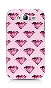Amez designer printed 3d premium high quality back case cover for Samsung Galaxy Grand Neo (pink diamond)