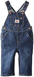 Levi\'s Baby Boys\' Denim Overall with Snappy Tape, Glare, 24 Months