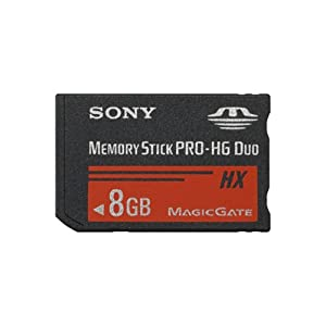 Sony 8 GB PRO-HG Duo HX Memory Stick MSHX8B (Black)