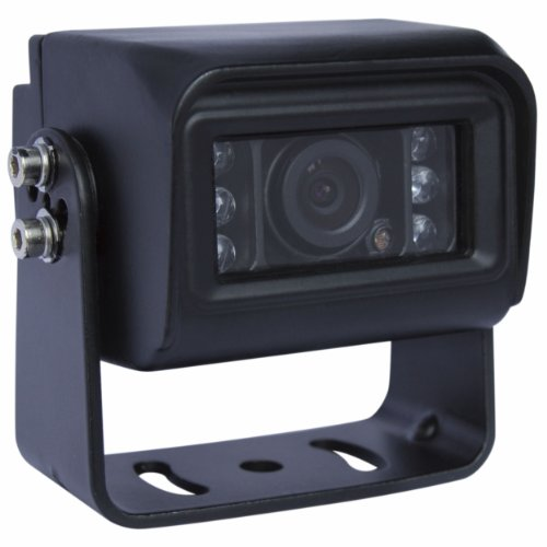 Mini Aluminum Shell Waterproof Ir Color Rear View Night Vision Backup Ccd Camera For Rv Truck Trailer (Df-8083)
