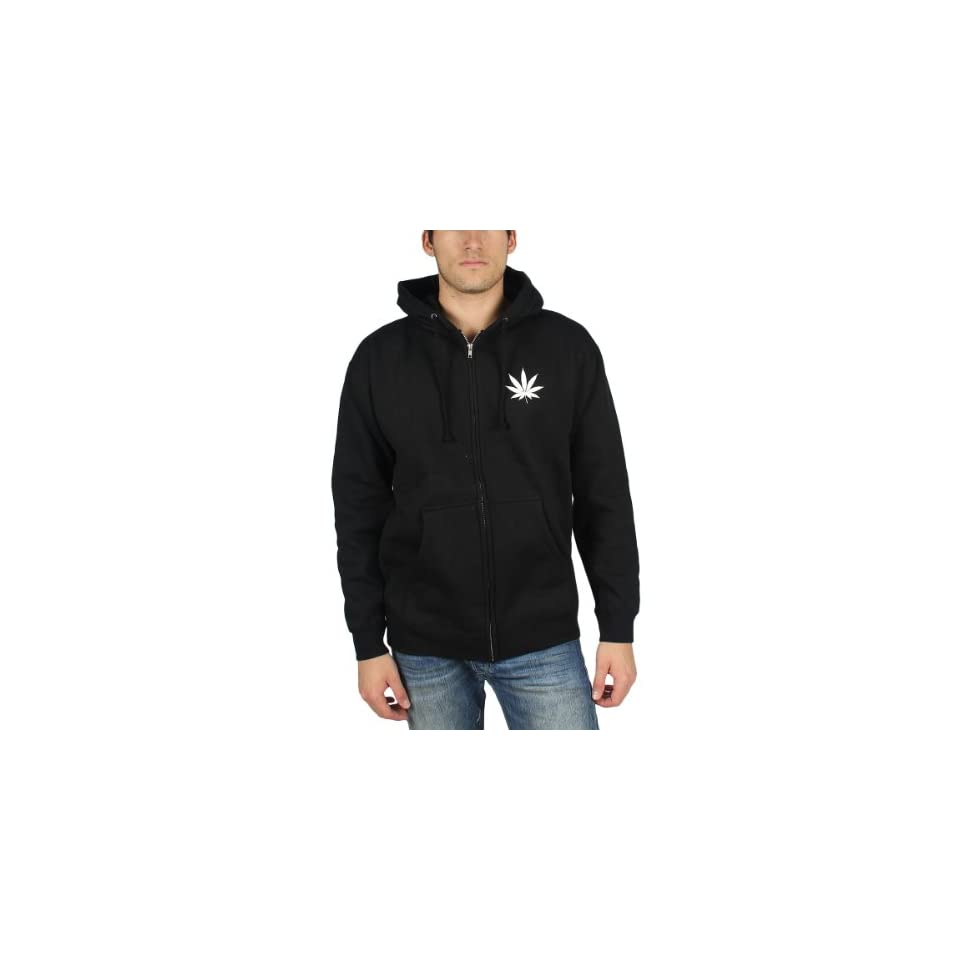 HUF   Leaves Zip Logo Mens Hoodie in Black, Size X Large, Color Black at  Men's Clothing store Fashion Hoodies