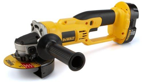 DEWALT DC411KA 18-Volt Cordless 4-1/2-Inch Cut-Off Tool