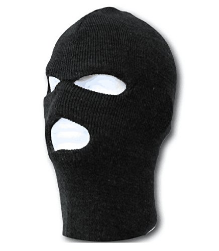 Bike Cycling Bicycle Outdoor Ski Warm Mask Thermal Fleece Cap Scarf, Black (Ski Mask 3 Hole compare prices)