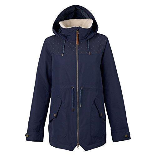 Burton giacca da snowboard da donna Prowess giacca, Donna, Snowboardjacke PROWESS JACKET, Mood Indigo Dot Emb, XS
