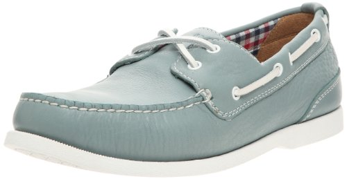 Rockport Men's CS 2 Eye Boat Lead Moccasin Blue ciel UK 9
