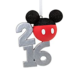 Hallmark 2016 Disney Mickey Mouse Holiday Ornament