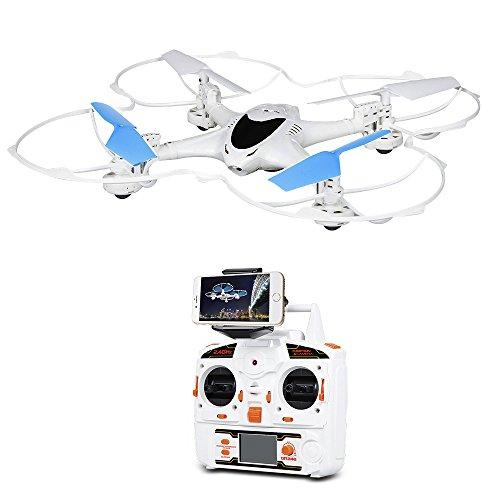 MJX X300C Quadricottero Gyro RC Wifi FPV 3D Flip 4CH 2.4GHz 6-assi Drone RC con camera 0.3MP HD compatibile con iOS ed Android