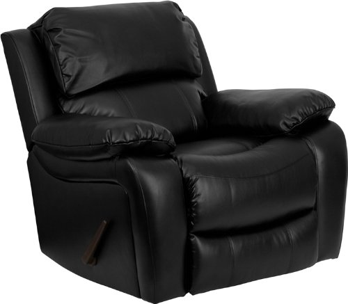 Flash Furniture Black Leather Rocker Recliner Review