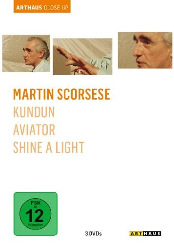 Martin Scorsese: Arthaus Close-Up ( Kundun / Aviator / Shine a Light ) [3 DVDs]