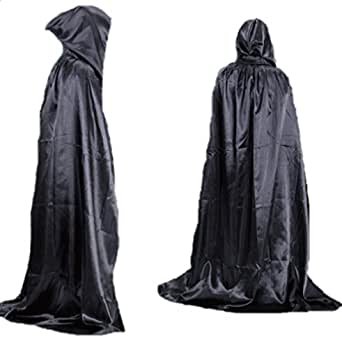 Dooream Unisex Halloween 5.3feet Adult Hooded Cloak Costumes Role Play