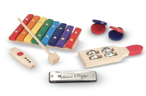 Melissa & Doug Deluxe Beginner Band Set
