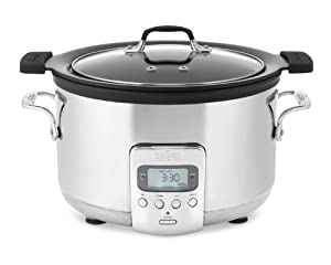 All-Clad Deluxe 4-QT. Slow Cooker with Cast Aluminum Insert by All-Clad