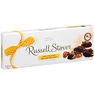Russell Stover Dark Chocolate Pecan Delight 11 oz Box