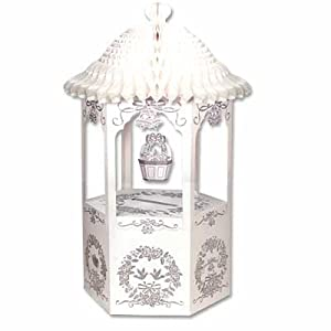 wedding reception decoration ideas, wishing well gift card holder