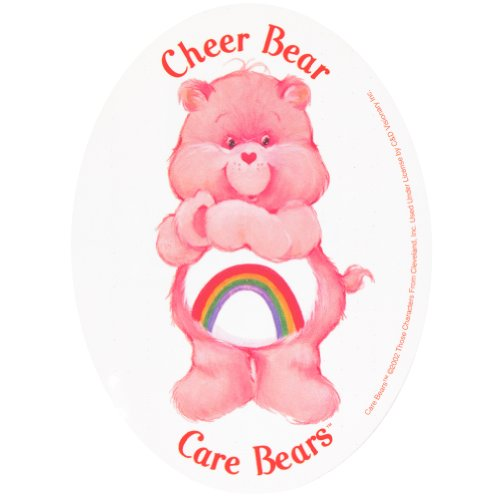 Care Bears - Cheer Bear Decal front-1003341